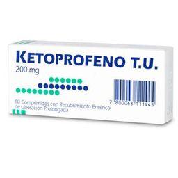 Ketoprofeno Com.200Mg. U T