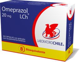 Omeprazol B.E 20 Mg X 30 Cáps