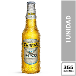 Cristal Light 355 ml
