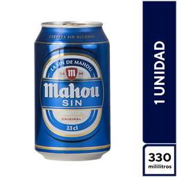 Mahou Sin Alcohol 330 ml