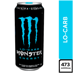 Monster Lo Carb Regular 473 ml