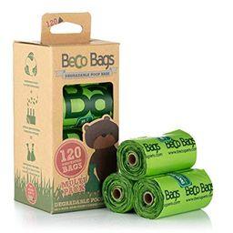 Bolsas Biodegradables Beco Aroma Menta 120 Unidades