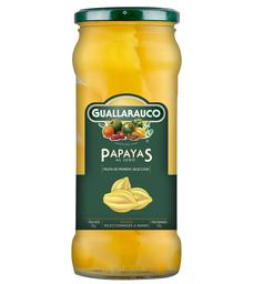 Papayas al Jugo Guallarauco
