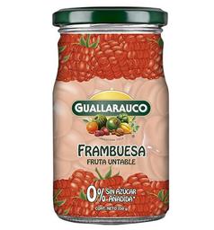 Mermelada frambuesa Guallarauco