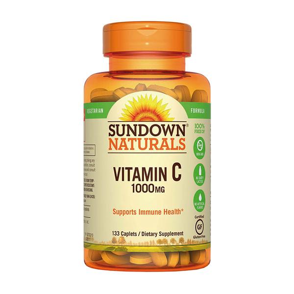 Vitamina C Sundown 133 Cápsulas (1000 mg)