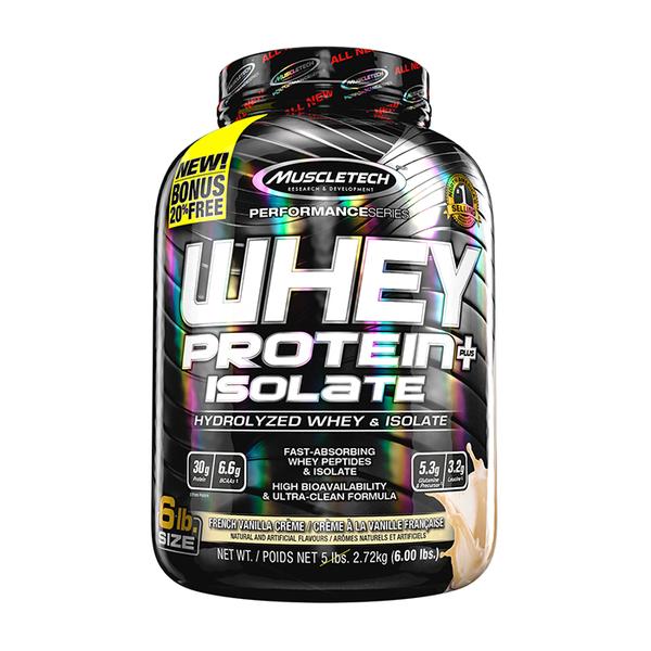 Proteína Muscletech Whey Isolate Vainilla 6 Lb