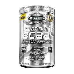Suplemento Dietario Muscletech Platinum 100% BCAA 200 Cápsulas