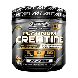 Suplemento Dietario Muscletech Platinum 100% Creatine 400 g