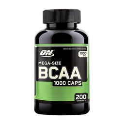 Aminoácido Optimu Nutrition BCAA 1000 200 Cápsulas