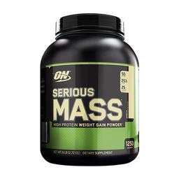 Suplemento Dietario Optimu Nutrition Serious Mass Vainilla 6 Lb