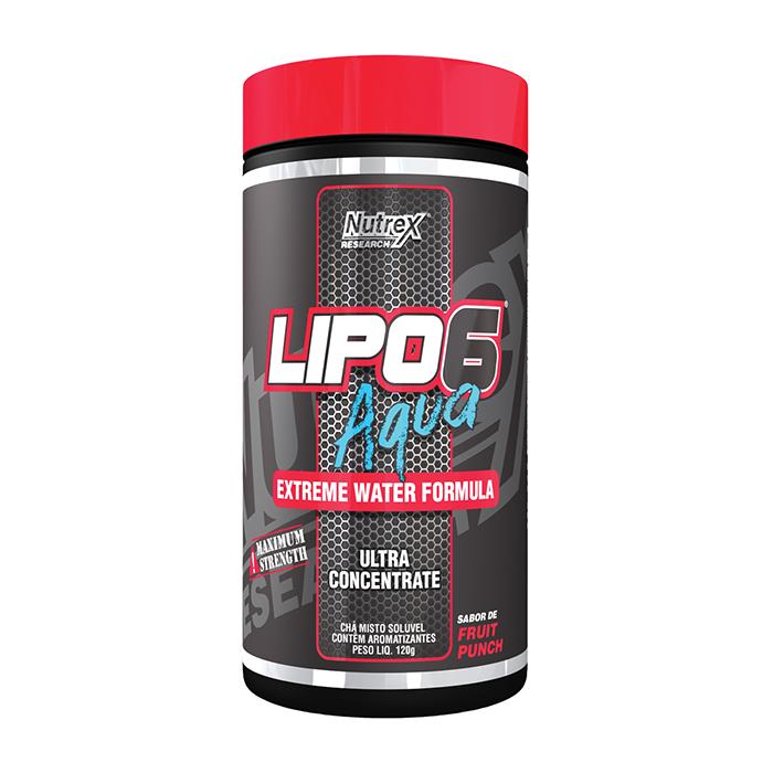 Proteína Lipo 6 Aqua Fruit Punch 120 g