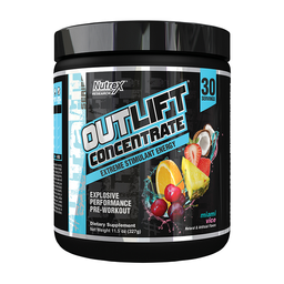 Proteína Outlift Concentrate Pre Workout Miami Vice 327 g