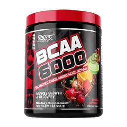 Aminoácidos BCAA 6000 Fruit Punch 255 g