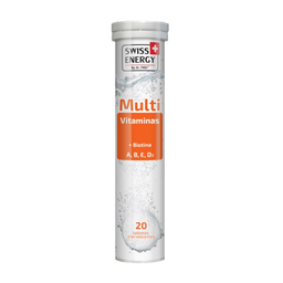 Multivitaminico Swiss Energy Biotina 20 Tabletas