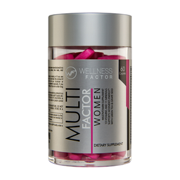 Multivitamínico Multi Factor Women 60 Cápsulas