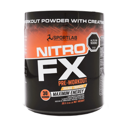 Suplemento Alimenticio Nitro FX Pre Workout Orange 300 g