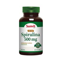 Suplemento Dietario Sunvit Life Spirulina (500 mg) 180 Tabletas