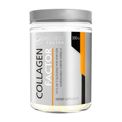 Colágeno Collagen Factor Sabor Vainilla 300 g