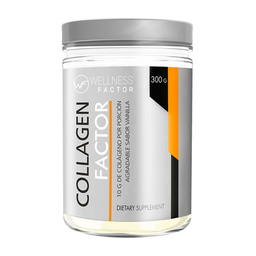 Colágeno Collagen Factor Sabor Vainilla 300 g