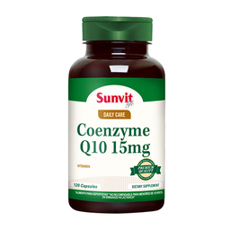 Suplemento Dietario Sunvit Life Coenzyme Q10 120 Cápsulas