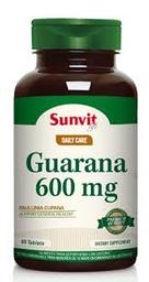 Suplemento Dietario Sunvit Life Guarana (1200 mg) 60 tabletas