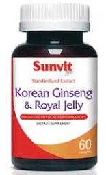 Suplemento Dietario Sunvit Life Korean Ginseng 60 Cápsulas