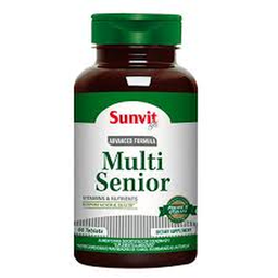 Multivitamínico Sunvit Life Multi Senior 60 Tabletas
