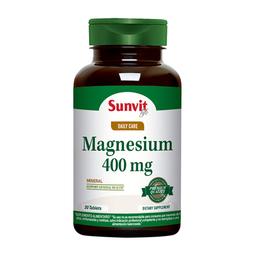 Suplemento Dietario Sunvit Life Magnesium (400 mg) 30 Tabletas