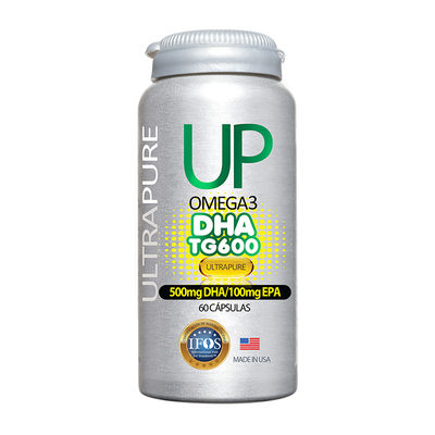 Omega 3 Up TG 600 DHA 60 Cápsulas