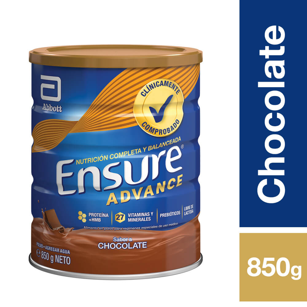 Ensure Advance Chocolate Tarro 850g