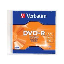 Dvd-R 4.7 Gb 16X Verbatim