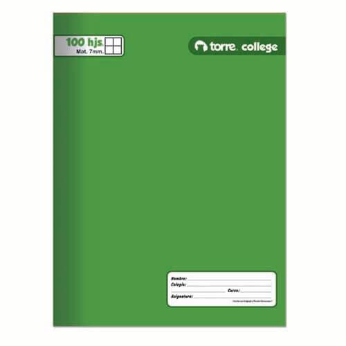 Cuaderno College 100 Croquis Torre