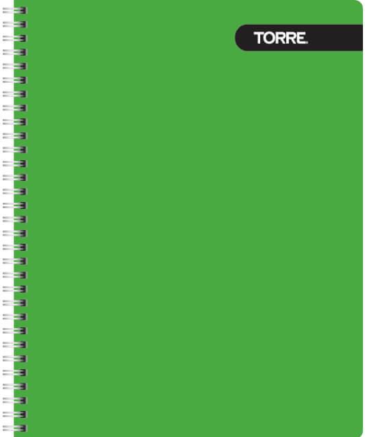 Cuaderno Universitario 100 Caligrafia Horizontal Torre