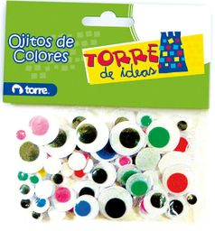 Set Ojitos Moviles 76 Unades Torre
