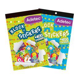 Block De Stickers Motivacionales - Adetec