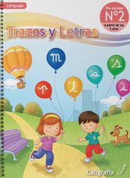 Trazos Y Letras 2 Kinder Caligrafix