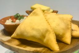 Empanada Carapacho Queso