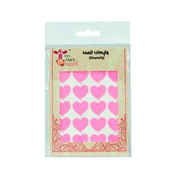 Sticker Mini Mani Moo Diseño Para Manicura Heart