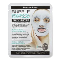 Máscara Facial Dermactin TS Efervescente de Carbón