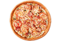 Pizza Espinacas a la Crema Mediana