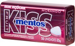 Mentos Kiss Fresa 35g (Caja 144)