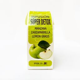 Caminos De Agua, Manzana,Zarzaparrilla Lemon Grass Caja 30Gr