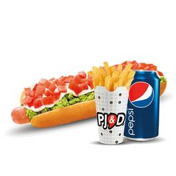 Combo Hotdog Italiano