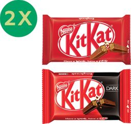 Promo: 2x Chocolates Kit Kat 41.5g Variedades