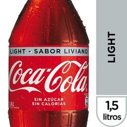 Bebida Coca Cola Light Botella 1.5Lt
