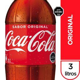 Bebida Coca Cola Original Botella 3Lt