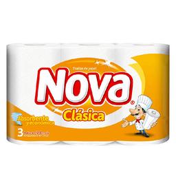 Toalla Nova De Papel Clásica