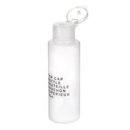 Botella de Viaje Con Tapa de Plástico Transparente 100 mL