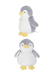 Peluche de Pingüino Color Gris 28 cm
