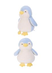 Peluche de Pingüino Color Azul 28 cm